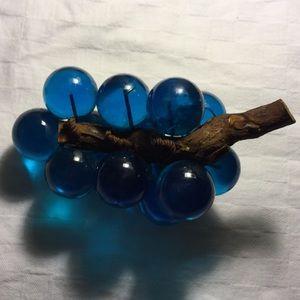 Vintage Accents - VTG • Lucite Grapes •